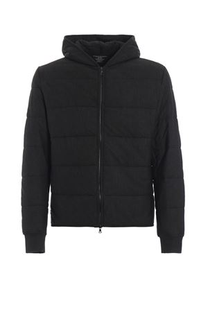 Charcoal slightly padded hooded sweat jacket MAJESTIC | -108764232 | J521HSW010088
