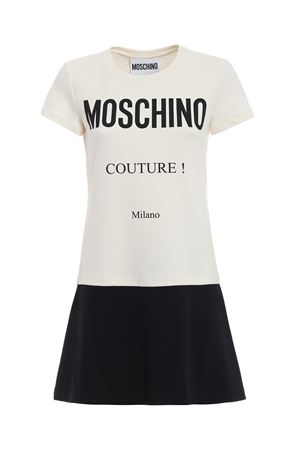 Moschino Couture print two-tone dress MOSCHINO | 11 | 04465526A2002