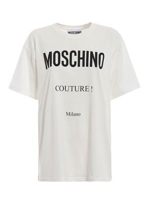 Oversized Moschino Couture white Tee MOSCHINO | 8 | 07025540A1002