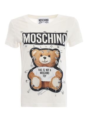 T-shirt bianca This is not a Moschino Toy MOSCHINO | 8 | 07055540A2002