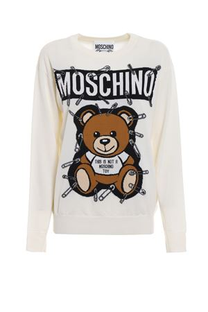 This is not a Moschino Toy wool sweater MOSCHINO | -108764232 | 09195501A1001
