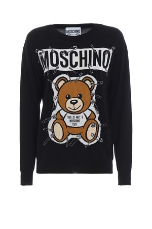 This is not a Moschino Toy intarsia sweater MOSCHINO | -108764232 | 09195501A1555