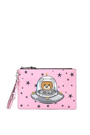 Ufo Teddy clutch MOSCHINO | 10000014 | 84478210A1221