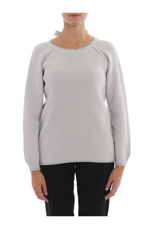 Grosgrain bow detailed cashmere blend sweater PAOLO FIORILLO CAPRI | 7 | 1325012877051