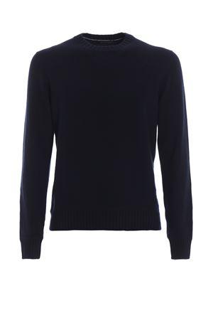 Maxi ribs detail cashmere crew neck sweater PAOLO FIORILLO CAPRI   7   5710620201598