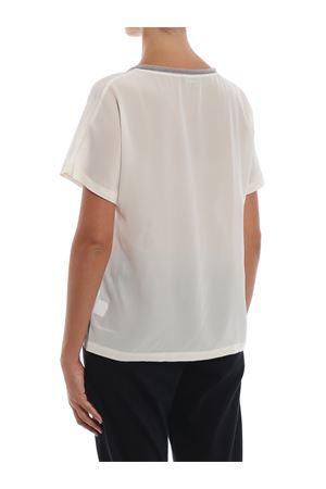 Blusa in seta a maniche corte PAOLO FIORILLO CAPRI | 10000004 | 6120252713999