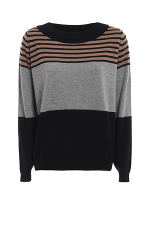 Silk and cashmere blend striped sweater PAOLO FIORILLO CAPRI | 7 | 65331313