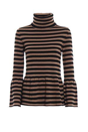 Peplum effect silk and cashmere blend sweater PAOLO FIORILLO CAPRI | 10000016 | 65380513