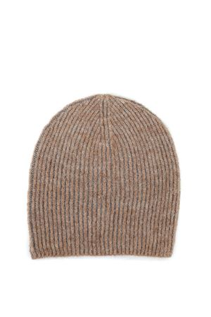 Cappello beige con intreccio in lurex PAOLO FIORILLO CAPRI | 26 | 66002514