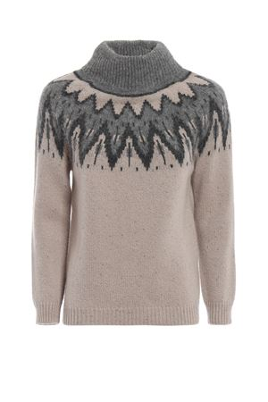 Alpine style alpaca and cashmere sweater PAOLO FIORILLO CAPRI | 7 | 68228556