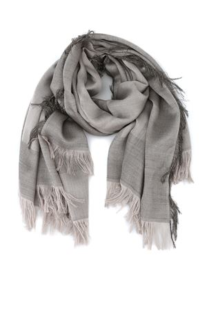 Shimmering wool and silk blend fringed scarf PAOLO FIORILLO CAPRI | 77 | 9020088710101