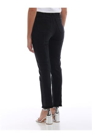 Black denim high rise skinny jeans PHILOSOPHY di LORENZO SERAFINI | 24 | 03165730A0555