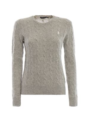 Cable knit merino and cashmere sweater POLO RALPH LAUREN | 1 | 211525764038
