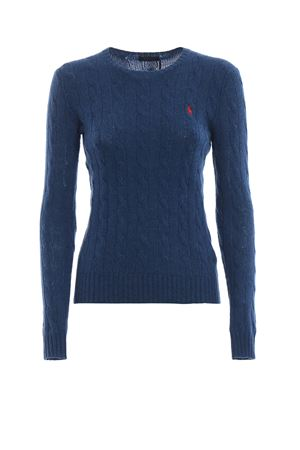 Cable knit merino and cashmere sweater POLO RALPH LAUREN | 1 | 211525764050