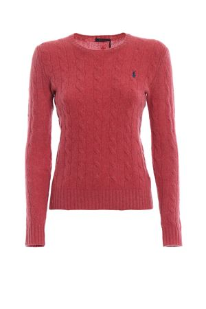 Cable knit merino and cashmere sweater POLO RALPH LAUREN | 1 | 211525764051