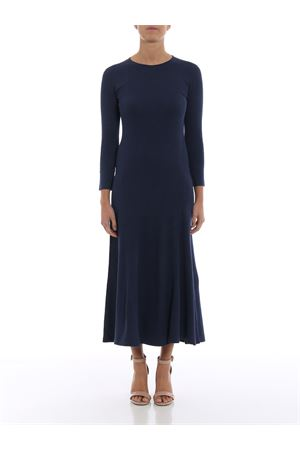 Knit cotton blend flared dress POLO RALPH LAUREN | 11 | 211704833001