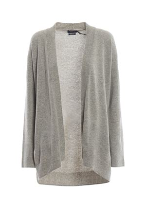 Cardigan over in lana merino grigio melange POLO RALPH LAUREN | 39 | 211704894003
