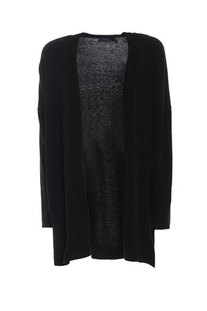 Viscose and wool over cardigan with slits POLO RALPH LAUREN | 39 | 211704903001