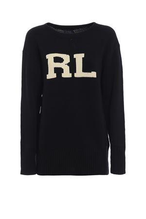Pullover in cotone con intarsio RL POLO RALPH LAUREN | 1 | 211704988001
