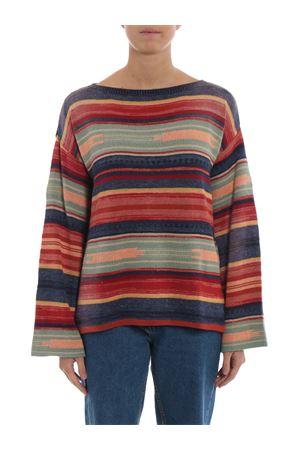 Multicolour linen cotton silk sweater POLO RALPH LAUREN | 1 | 211717543001