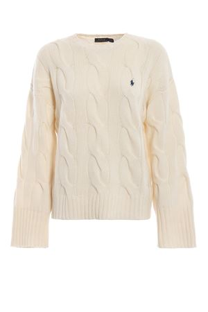 Twist knit merino sweater with wide sleeves POLO RALPH LAUREN | 1 | 211726832003