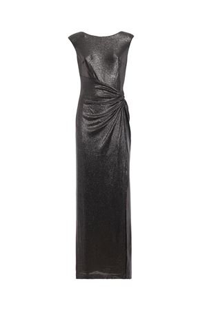 Metallic jersey sleeveless long draped dress POLO RALPH LAUREN | 11 | 253709402002