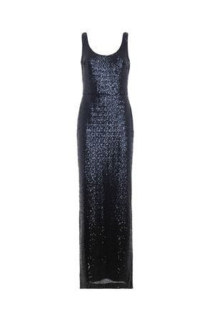 Black and blue sequin sleeveless gown POLO RALPH LAUREN | 11 | 253715156003