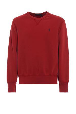 Red cotton blend sweatshirt POLO RALPH LAUREN | 7 | 710717112005