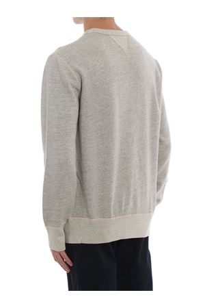 Grey sweatshirt with vevet effect print POLO RALPH LAUREN | -108764232 | 710722650001
