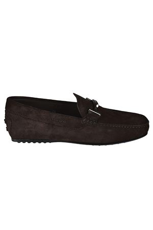 City Gommino dark brown loafers TOD
