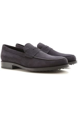 Gomma suede loafers TOD