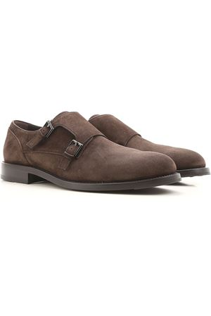 Suede classic monk straps TOD