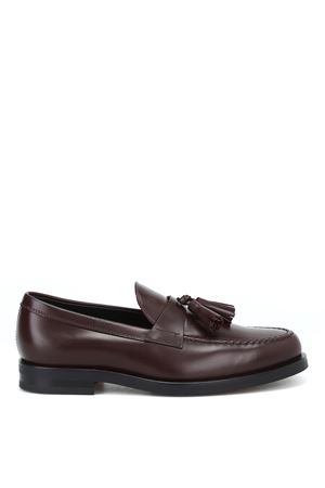 Tassel embellished leather loafers TOD