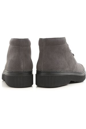 39A nubuck lace-up ankle boots TOD