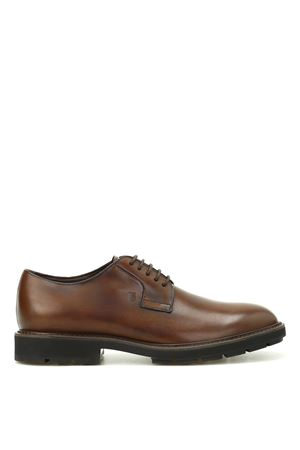 Shaded leather Derby shoes TOD