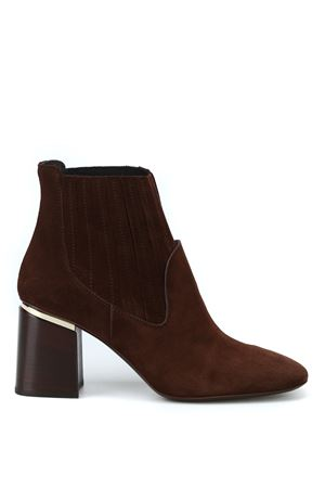 Ankle boots in suede  TOD