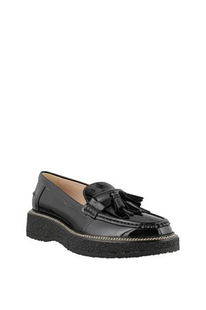 Loafers in Patent Leather TOD