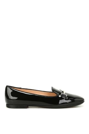 Double T patent leather slippers TOD