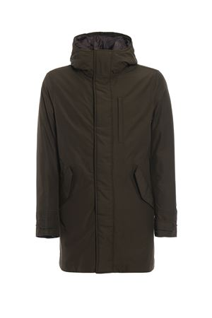 Parka Mountain verde con interno staccabile WOOLRICH | 10000013 | WOCPS2734CN03DAG