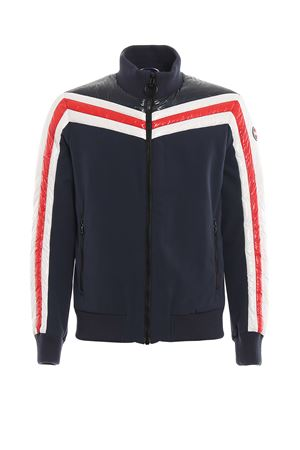 Striped padded inserts jacket