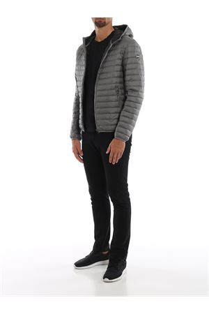 Tech fabric puffer jacket