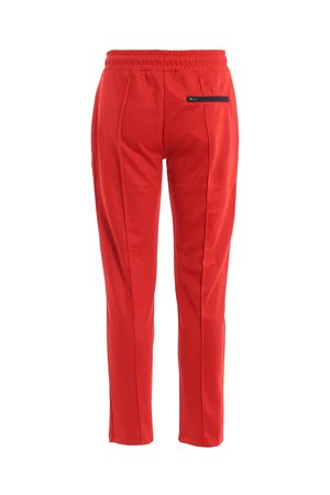 Techno cotton track pants