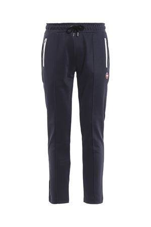 Techno cotton tracksuit bottoms