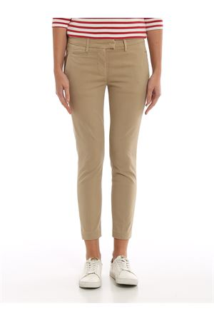 Perfect cotton satin trousers