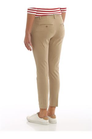 Pantaloni Perfect in rasatello DP066RS0032DZ97PDD034 DONDUP | 20000005 | DP066RS0032DZ97PDD034