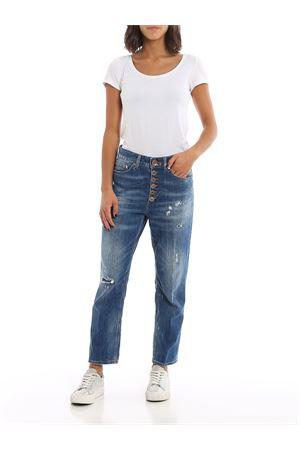 Jeans Koons con bottoni gioiello DONDUP | 20000005 | DP268BDS0107DW37PDD800