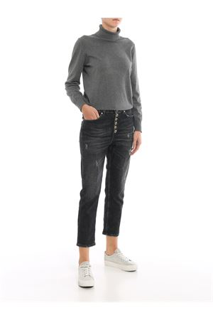 Koons jeans with jewel buttons