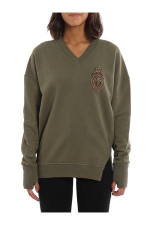 Bejewelled oversized sweatshirt DONDUP | -108764232 | F181KF0176DXXXPDD633