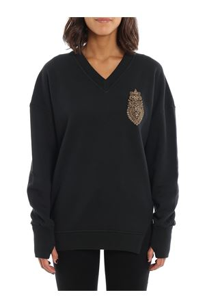 Bejewelled oversized sweatshirt