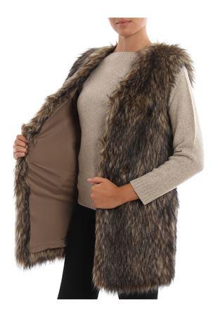 Ashlynn faux fur vest DONDUP | 38 | J836PL0227DXXXPDDUNICA